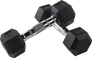 FitElite(フィットエリート) HEXダンベル(ヘックスダンベル)3kg 5kg 7.5kg 10kg 12.5kg 15kg 20kg 25kg 30kg【ソフトな素材で、室内でのご利用に最適】