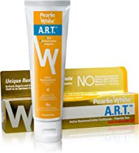 Pearlie White Active Remineralization Toothpaste - Fluoride Free (3.8oz, 110gm) - Remineralizing Toothpaste for Tooth Enamel Repair | Contains Hydroxyapatite and Xylitol