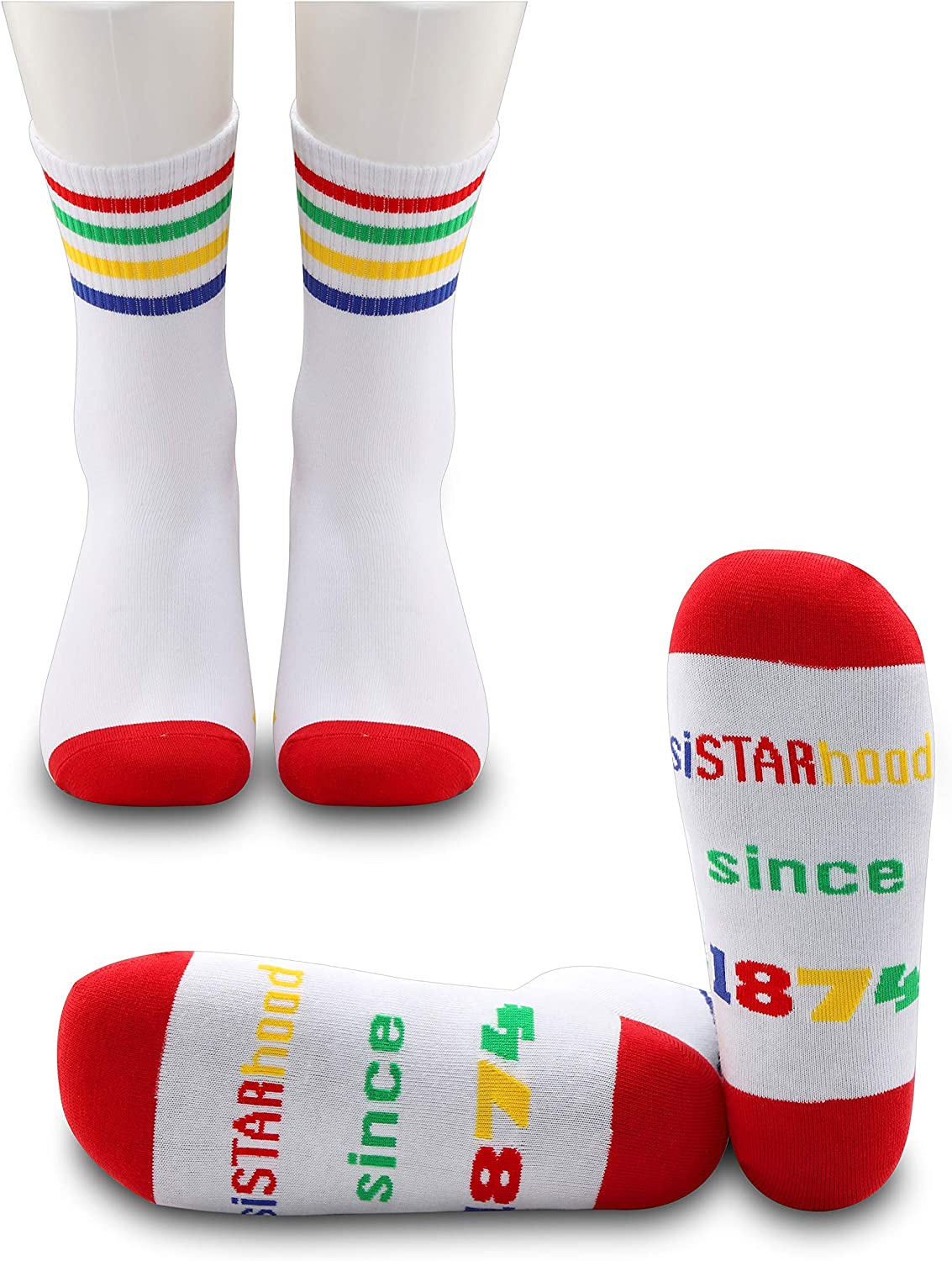 JXGZSO2Pairs OES Beauty products Socks Order of Jacksonville Mall Sor Star the Eastern