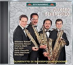 allegro de concert saxophone quartet