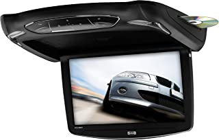 Sound Storm S13.3BGT Car Roof-Mount Monitor & DVD Player – 13.3 Inch LCD, Widescreen, Flip-Down, Built-in DVD Player/FM Transmitter/IR Transmitter/Speakers/Dome Light, Included Black/Gray/Tan Housings
