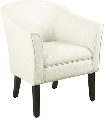Amazon.com: LumiSource Accent Chair in Walnut and Oatmeal ...