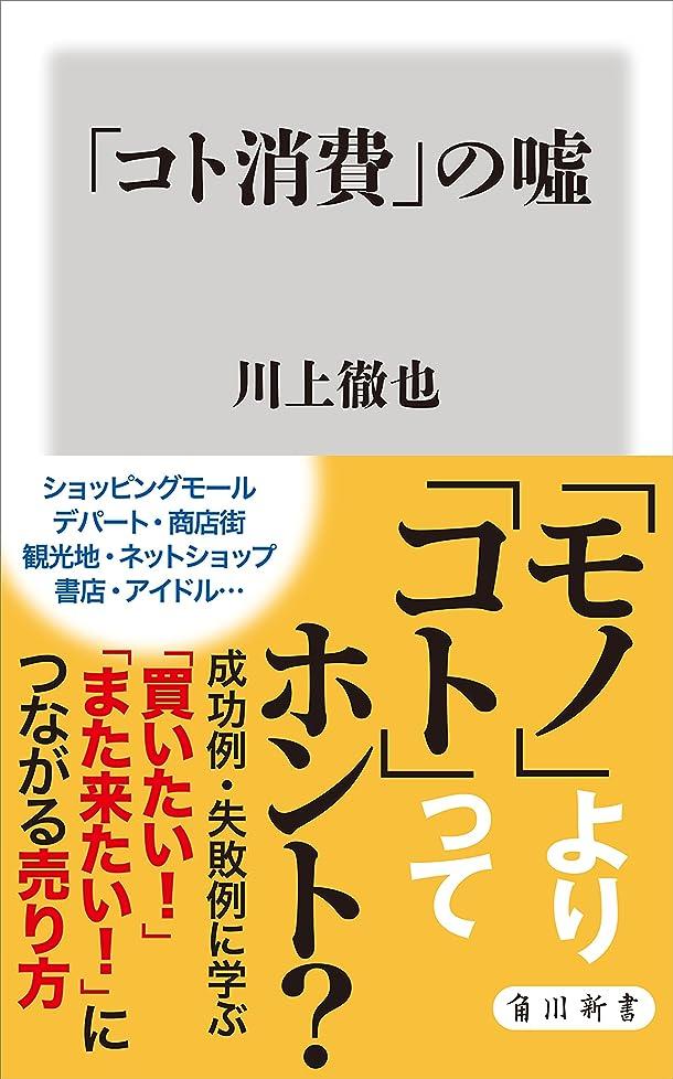 レーザアプローチアプローチ「コト消費」の嘘 (角川新書)