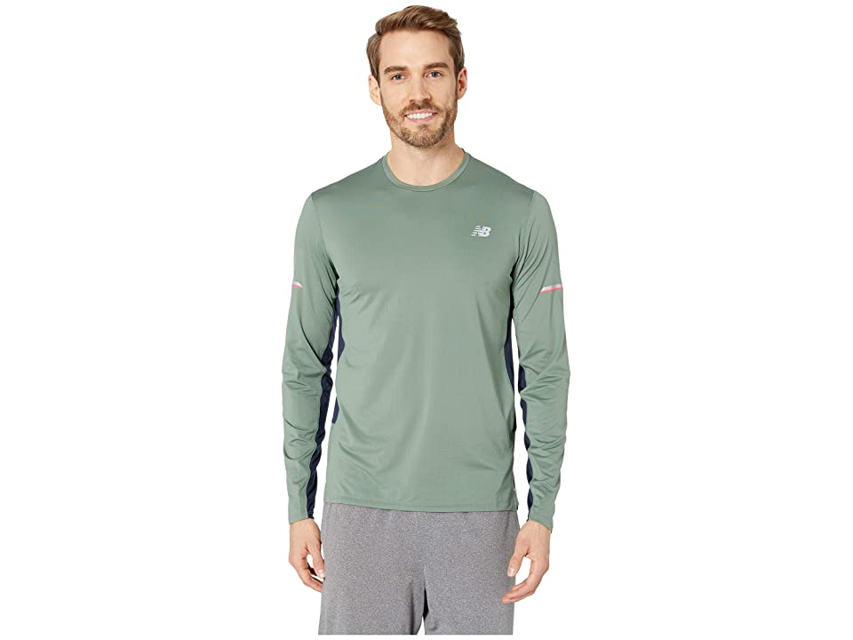 New Balance NB Ice 2.0 Long Sleeve Top (Vintage Cedar) Men