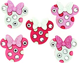 Dress It Up Disney Button Embellishment 8955 Minnie Rhinestone Heads