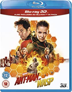 Ant-Man And The Wasp (3D Blu-ray + Blu-ray)