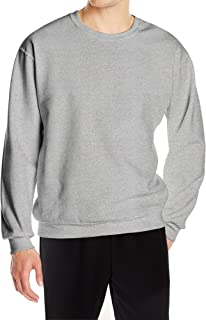 Sponsored Ad - Casei Men's Long-Sleeve Crewneck Sweatshirts Lightweight Warm Pullover Plain Sweatshirt
