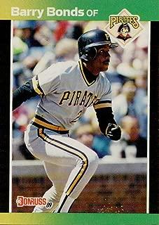 Baseball MLB 1989 Donruss #92 Barry Bonds Pirates
