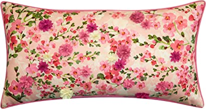 Dimensional Indoor & Outdoor Cherry Blossom Lumbar Decorative Pillow