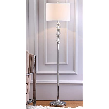 Safavieh Fll4017a Lighting Collection Lovato 64 Clear Floor Lamp Amazon Com