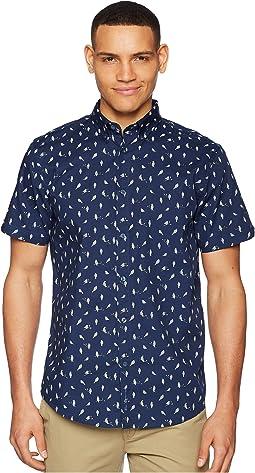 Ben Sherman - Short Sleeve Bird Print Shirt