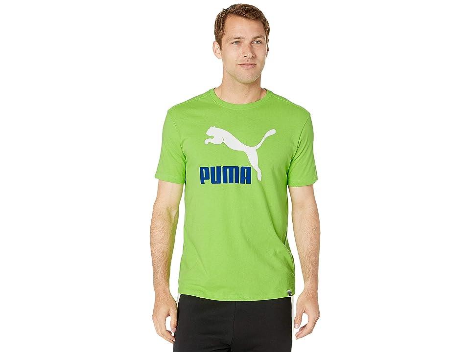 0c479580db6 PUMA Archive Life Tee (Jasmine Green/Puma White/Surf The Web) Men's T Shirt