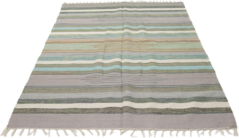 Galleria Farah1970 ING-1970-11-Indian Hand mde Kilim Cotton 180x120 CM -