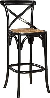 Sloane Elliot Parisian Bar Stool, Black