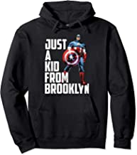 Marvel Avengers Captain America Just A Kid From Brooklyn Pullover Hoodie