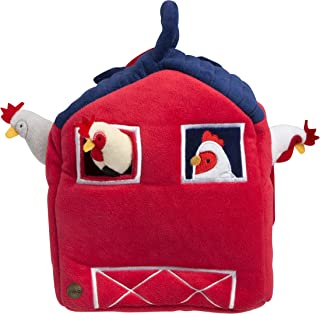 FAO Schwarz Chicks 4Pc Hen House Ban Stuffed Animal Toy Plush, Ultra Soft & Snuggly Doll for Creative & Imagination Play, for Boys, Girls, Children Ages 3 & Up, Playroom & Nursery Pretend Pet