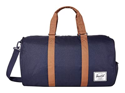 Herschel Supply Co. Novel (Peacoat/Saddle Brown) Duffel Bags
