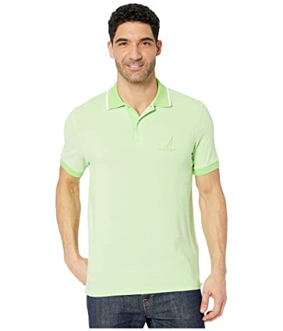 Nautica Oxford Polo (Green) Men