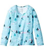 Hot Chillys Kids MTF Print Crew Neck (Toddler/Little Kids/Big Kids)