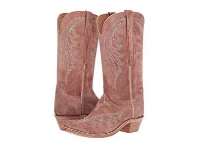 Lucchese Margot (Blush Italian Suede) Women