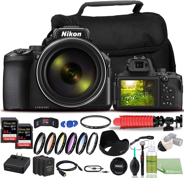 Nikon COOLPIX Max 57% OFF P950 Digital Camera Fees free!! - USA Model Bundle 26532 +