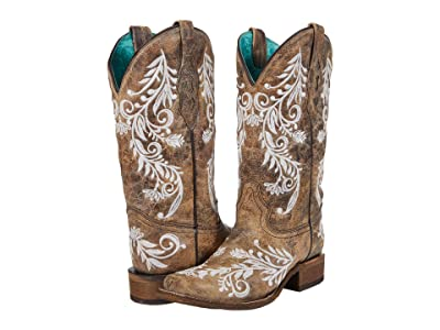 Corral Boots A4063 (Brown/White) Women
