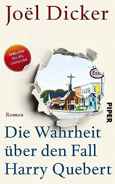 XXL-Leseprobe: Die Wahrheit über den Fall Harry Quebert (German Edition)