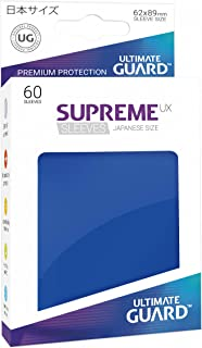 Ultimate Guard Supreme Japanese UX Card Sleeves (60 Piece), Blue