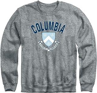 Crewneck Sweatshirt, Cotton/Poly Blend, Heritage Logo Grey