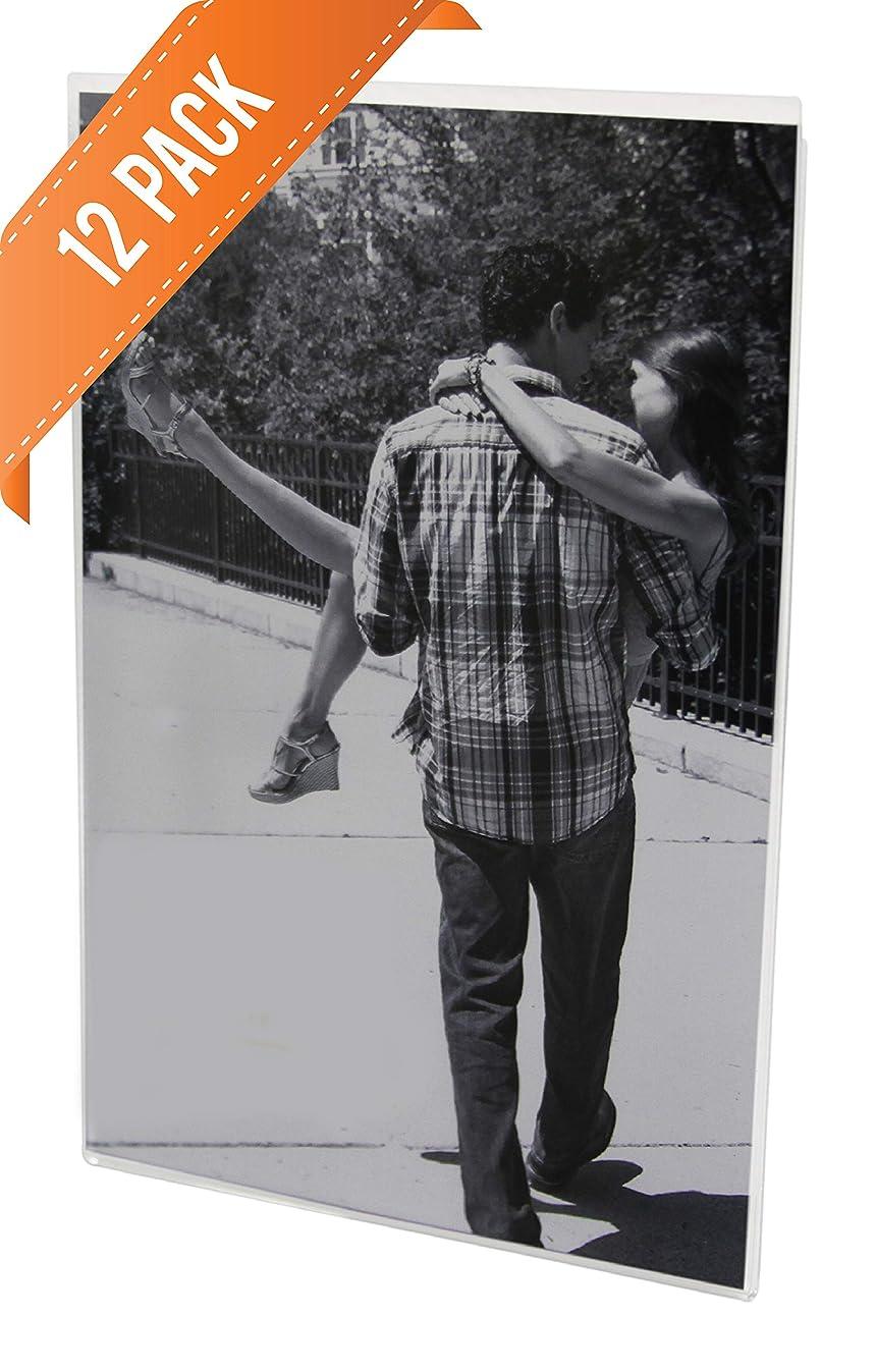 4x6 Acrylic Magnetic Photo Frame, Sign Holder (12)