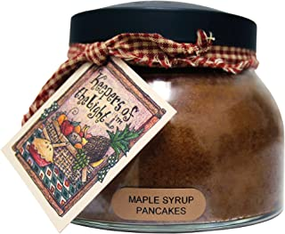 A Cheerful Giver Maple Syrup Pancakes Mama Jar Candle, 22-Ounce, Brown