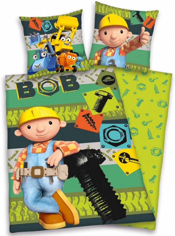 Herding Kinder-Wendebettwäsche Bob Bob Bob der Baumeister 135x200 cm B016DIVL5A 24d394