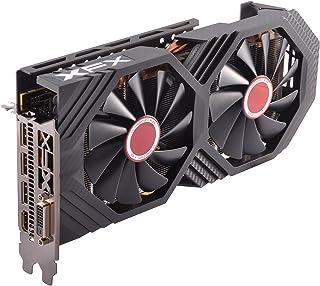 XFX AMD Radeon RX RX-580P828D6 8GB Black Edition - Tarjeta gráfica Radeon Express