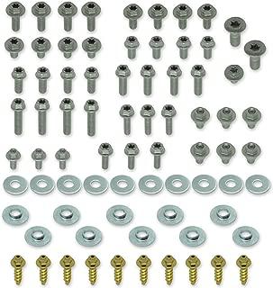 76pc SPECBOLT Body Bolt KIT for Plastics seat fenders Fork Guards shrouds & subframe. Fits KTM & Husqvarna 65 80 85 125 150 200 250 350 400 450 500 520 525 SX SX-F XC XC-F XC-W XCF-W EX EXC EXC-F