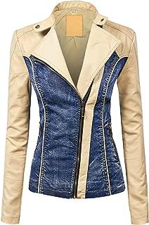 cream denim jacket womens
