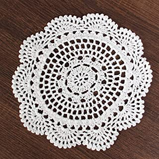 Best knitted lace doily pattern free Reviews