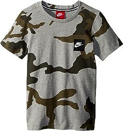 Nike Kids Sportswear Printed T-Shirt (Little Kids/Big Kids)