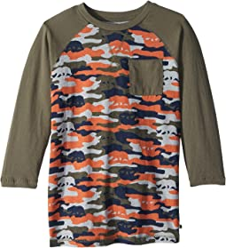 Lucky Brand Kids - Baseball Camo Tee (Big Kids)