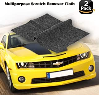 [2 Pack] Multipurpose Scratch Remover Cloth,Car Paint Scratch Repair Cloth,Car Scratch Remover,Nano-Meter Scratch Removing Cloth for Surface Repair,Scratch Repair and Strong Decontamin