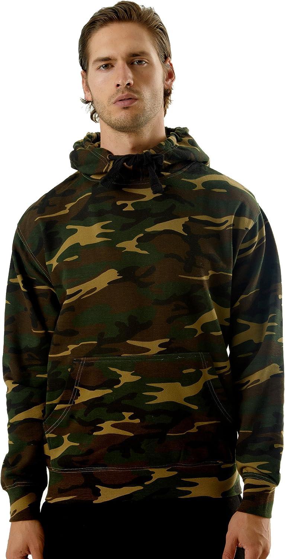 Skywear Unisex Camouflage Pullover Atlanta Mall Long Beach Mall Hoodie Sweater