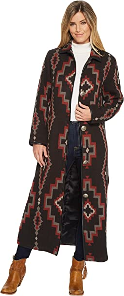 Double D Ranchwear - Cross Canyon Duster-No Fur