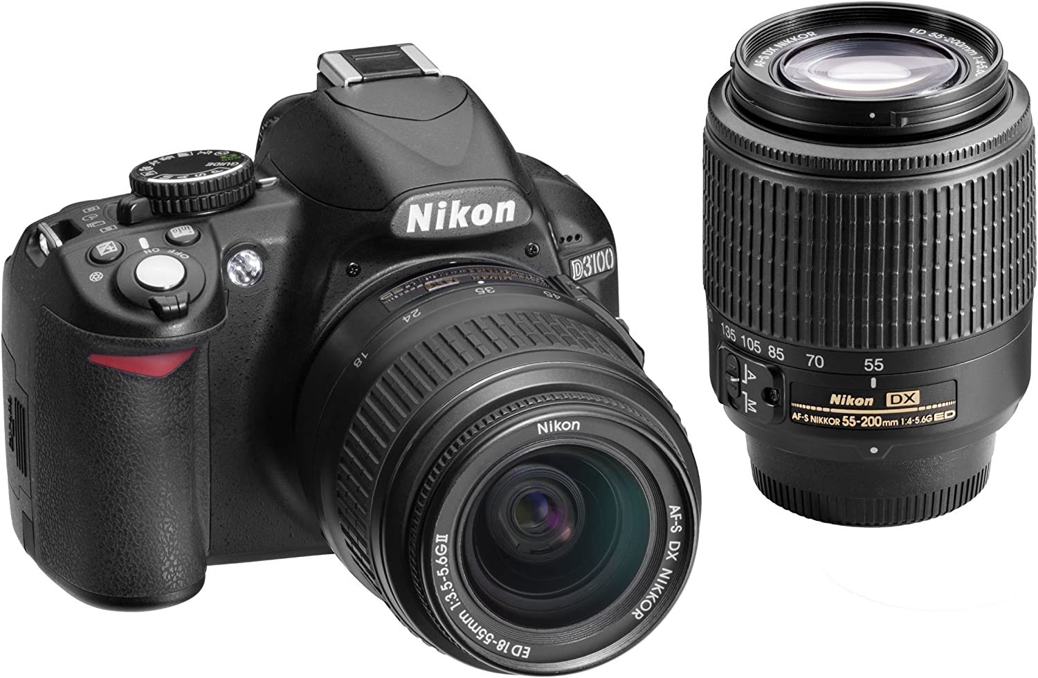 Nikon D3100 14.2MP In a Fashionable popularity Digital SLR with Lens 18-55mm Kit Double-Zoom