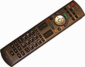 OEM Panasonic Remote Control Originally Shipped with TCP50G15, TCP50V10, TCP50V10, TCP54G10, TCP54G10, TCP54V10, TCP54V10, TCP58V10, TCP65V10