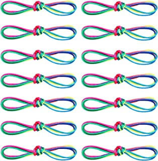 Mayam 14 Pieces Cats Cradle String Hand Game Finger String for Boys and Girls Party Favor Toy Supplies, 67 Inches (Color 1)