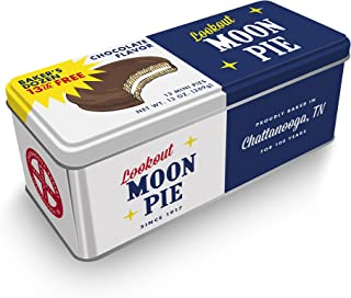 Moonpie Baker's Dozen Mini Moonpie Tin Limited Edition Assorted Flavors (Chocolate)