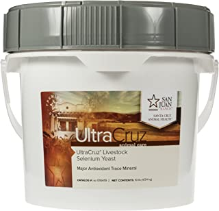 UltraCruz Livestock Selenium Yeast Supplement, 10 lb, Pellet (80 Day Supply), sc-516419
