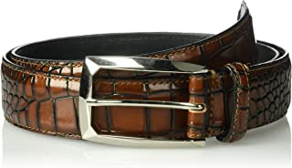 Best mens crocodile belt Reviews