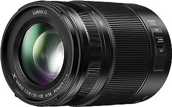 Panasonic LUMIX H-HSA35100 II - Objetivo Tele Zoom para cámaras de montura M4/3 (Focal 35-100 mm, F2.8, tamaño filtro 58 mm, lentes asféricas, resistente agua/polvo/congelación, POWER O.I.S), negro