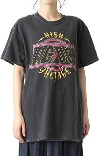 (レイビームス)Ray BEAMS/Tシャツ GOOD SPEED/ACDC Higt Voltage Tシャツ レディース