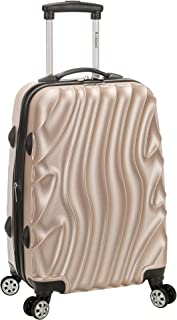 7b93fb88ae1b Rockland Melbourne 20 Inch Expandable Abs Carry On Luggage